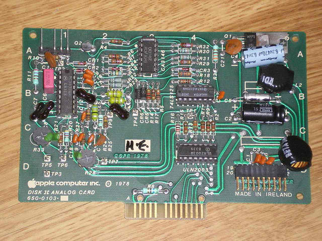 Disk II Analog Card